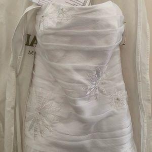 Unaltered Galina wedding gown